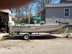 1999 StarCraft Fisherman 160T