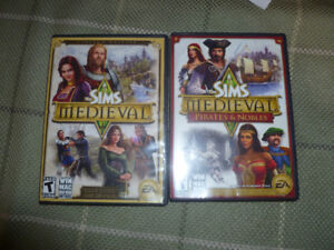 The sims medieval PC games