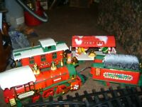 1986 NEW BRIGHT TOYS CHRISTMAS TRAIN