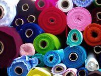 1000 meters plus of asstd materials, wool velvet cotton , for upholstery