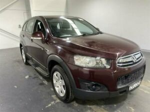 2013 Holden Captiva CG MY13 7 SX (FWD) Red 6 Speed Automatic Wagon Beresfield Newcastle Area Preview