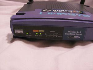 Linksys Router model WRT55AG