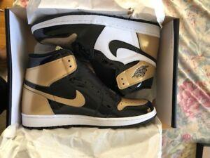 Jordan 1 Gold Toes Size 11