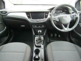 2019 Vauxhall Crossland-X 1.2T ecoTec 110 Se Nav 5dr Hatchback Petrol Manual