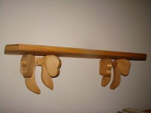 "Pine (wall mounting) Shelf 24"" x 5.5"""