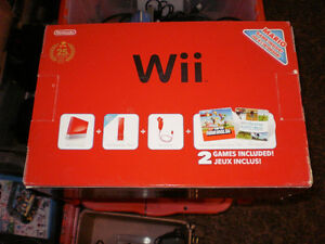 Mario Edition Red Wii complete in box
