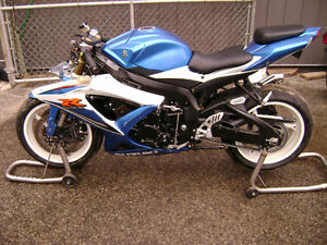 2009 Suzuki GSXR 600 Frame And Parts For Sale