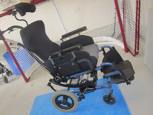Tilting Wheelchair - Quickie Tilting Wheelchair - $400.00