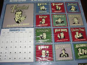 Retro Spoofs 'Beer' calendars / posters: 2003 + 2005 Kitchener / Waterloo Kitchener Area image 3