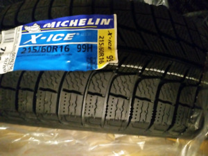 Michelin X-Ice Xi3 Winter Radial Tire - 215/60R16/XL 99H