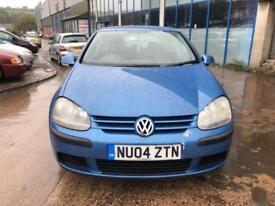 Volkswagen Golf 2.0SDI S 5 DOOR - 2004 04-REG - 4 MONTHS MOT