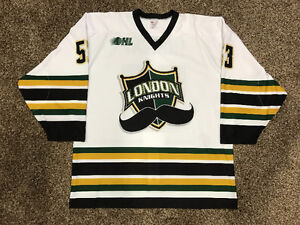 BO HORVAT Game Worn LONDON KNIGHTS OHL Jersey + METE Canada