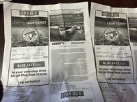 2 blue jays tickets sept 5