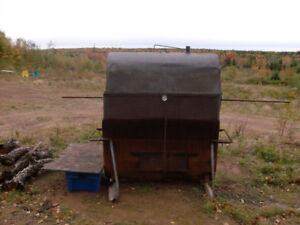 LARGE SPIT PIG ROASTER/SMOKER FOR WOOD/CHARCOAL BBQ