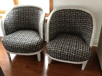 Matching tub chairs $50 for both