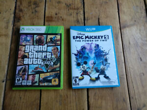 Video Games: Grand Theft Auto 5 and Epic Mickey 2
