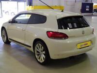 2011 Volkswagen Scirocco 2.0 TSI 210 GT 3dr Petrol white Manual