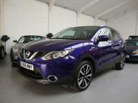 Nissan Qashqai 1.6dCi Tekna( 130ps ) ( Glass Roof ) 16,66,18k FMDSH, Blue Met
