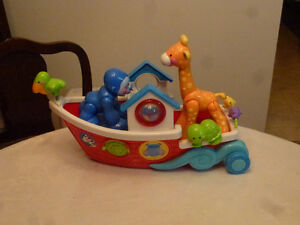 Toys - Fisher-Price Amazing Animals Roll Along Musical Ark