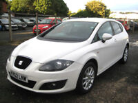 "2012/62 Seat Leon 1.6TDI (105ps) CR SE Copa ""ONLY £4995"""