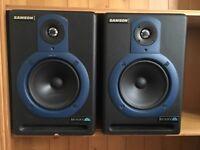 Samson Resolv 65 Studio or DJ Monitor Speakers Monitors Can Deliver
