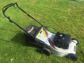 "Masport 18"" cut self propelled alloy deck lawnmower perfect condition just serviced great mower"