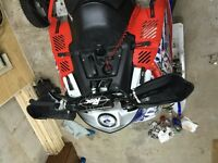 2014 iqr race sled low hours
