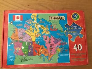 Canada Map Puzzle Kijiji In Ontario Buy Sell Save With - Canada map puzzles