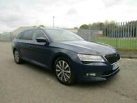 Skoda Superb 1.6TDI, 2017, ESTATE, Greenline, SE L Executive, 2 OWNERS, 82K, FSH