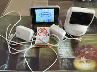 Summer color video baby monitor system