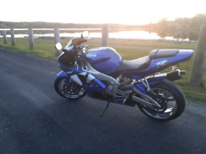 2001 YAMAHA YZF R1 Motorcycle for sale