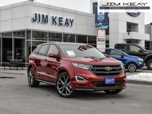 2017 Ford Edge Sport  - Certified - Leather Seats - $129.62 /Wk