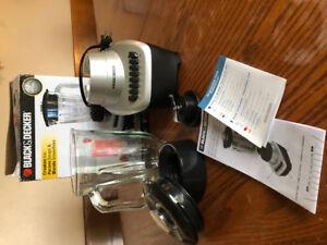 Black and Decker fusion blade 12 speed blender.  $30