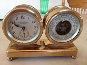 J C  Grogan  clock vintage , trade for silver or gold, vw bug