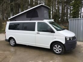 VW T5 Long Wheel Base Campervan 2013 1.9 TDI 140 bhp