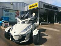 2016Can-Am SPYDER RT 1330 ACE trike tourer white