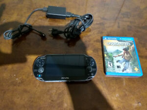 Playstation Vita OLED with uncharted and 32gb memory card
