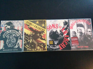 Sons of Anarchy seasons 1 to 4 on DVD