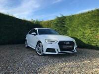 2018 Audi A3 1.5 TFSI S LINE 3d 148 BHP Hatchback Petrol Manual