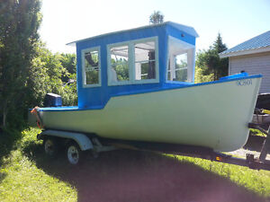 19 FT Cape Islander with 50HP outboard.