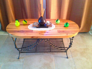 table en bois de grange Saint-Hyacinthe Québec image 3