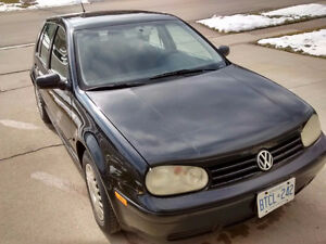 Great condition!! 2003 VW Golf Black