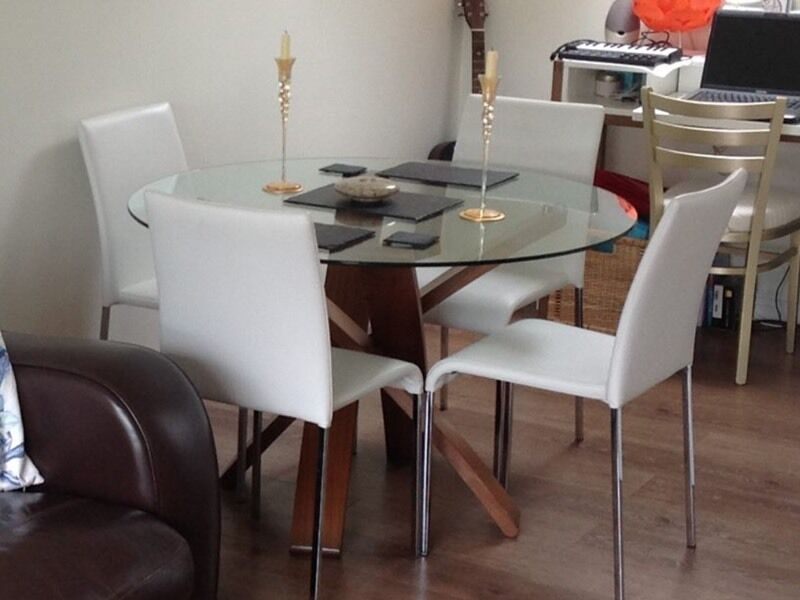 Marks And Spencer Jasper Dining Table Walnut