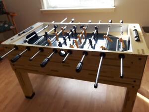 Fooseball Table.