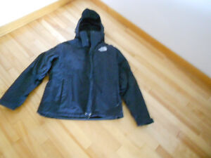 Black NorthFace 3in1 jacket.