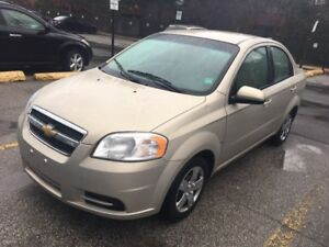 2009 Chevrolet Aveo LS.. Very low km..mint condition..1owner