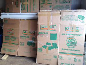 Uhaul Moving Boxes all types