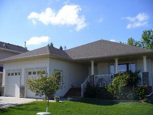 UNBEATABLE RAVINE LOCATION!  CUSTOM 4 BED BUNGALOW IN DEVON Edmonton Edmonton Area image 1