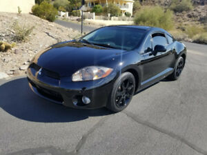 MITSUBISHI ECLIPSE GT-P 6SPEED 350+HP BLACK BEAUTY!!