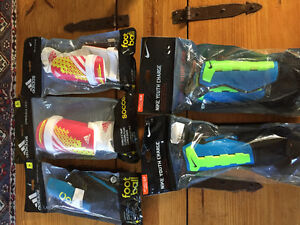 New! Nike or adidas soccer shin pads youth and adults Kitchener / Waterloo Kitchener Area image 1